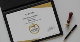 Caglificio Clerici medaglia d'oro EcoVadis per la sostenibilità